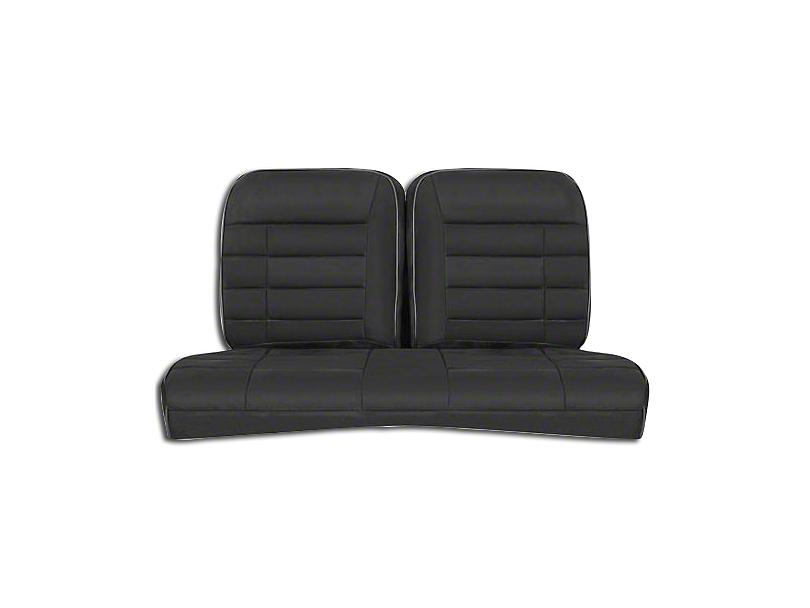 Corbeau Rear Seat Cover - Black Microsuede (84-93 Hatchback)