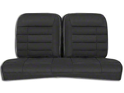 Corbeau Rear Seat Cover - Black Microsuede (84-93 Hatchback)