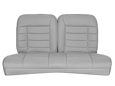 Corbeau Rear Seat Cover - Grey Cloth (79-93 Coupe)