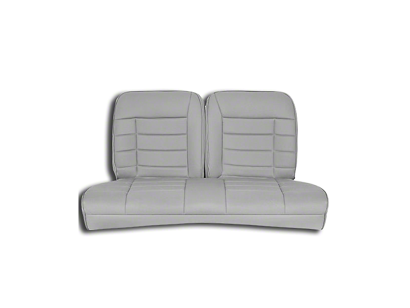 Corbeau Rear Seat Cover - Grey Cloth (83-93 Convertible)