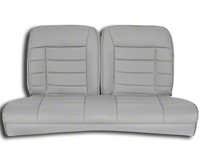 Corbeau Rear Seat Cover - Gray Cloth (83-93 Convertible)