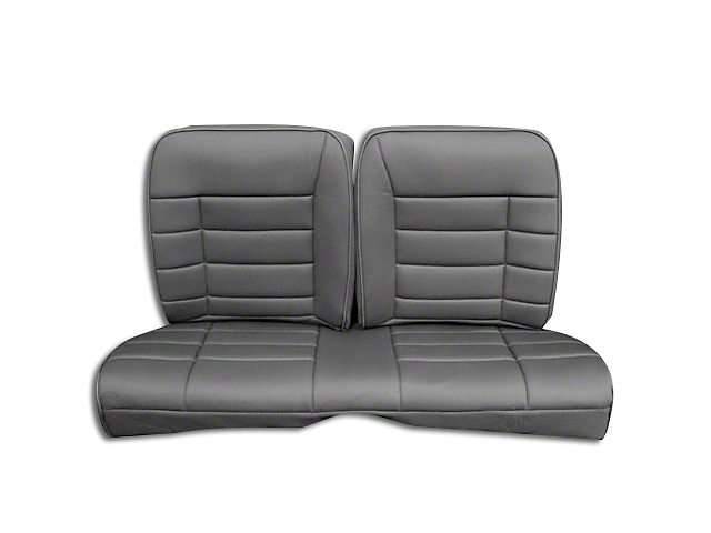 Corbeau Rear Seat Cover - Gray Cloth (84-93 Hatchback)