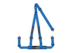 Corbeau 2-Inch 3-Point Bolt-In Harness Belt; Blue (Universal; Some Adaptation May Be Required)