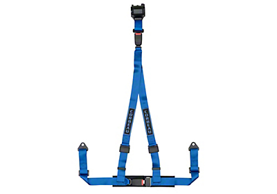 Corbeau 2 in. 3-Point Retractable Harness Belt - Blue (79-18 All)