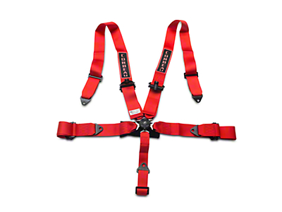 Corbeau 3 in. 5-Point Camlock Harness Belt - Red (79-17 All)