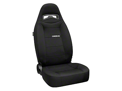 Corbeau Moab Reclining Seat - Black Neoprene - Pair (79-18 All)
