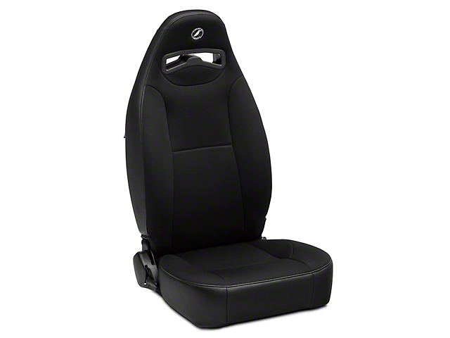 Corbeau Moab Reclining Seat - Black Vinyl/Cloth - Pair (79-19 All)