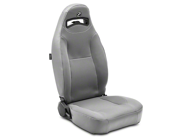 Corbeau Moab Reclining Seat - Grey Vinyl/Cloth - Pair (79-18 All)