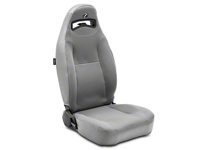 Corbeau Moab Reclining Seat - Grey Vinyl/Cloth - Pair (79-17 All)