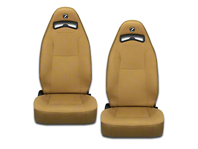 Corbeau Moab Reclining Seat - Spice Vinyl/Cloth - Pair (79-18 All)