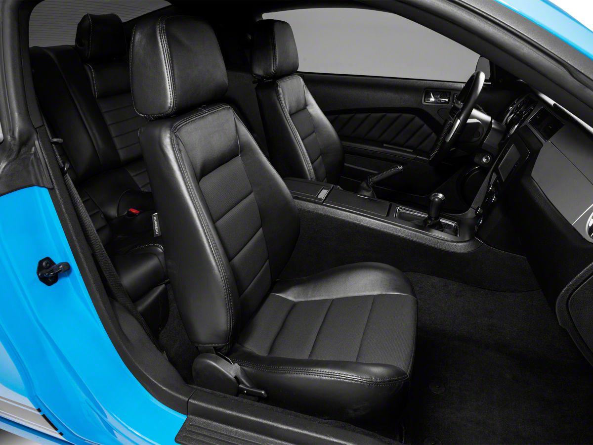 Corbeau Mustang Sport Reclining Seats Black Vinyl Cloth Pair 90011 79 20 All