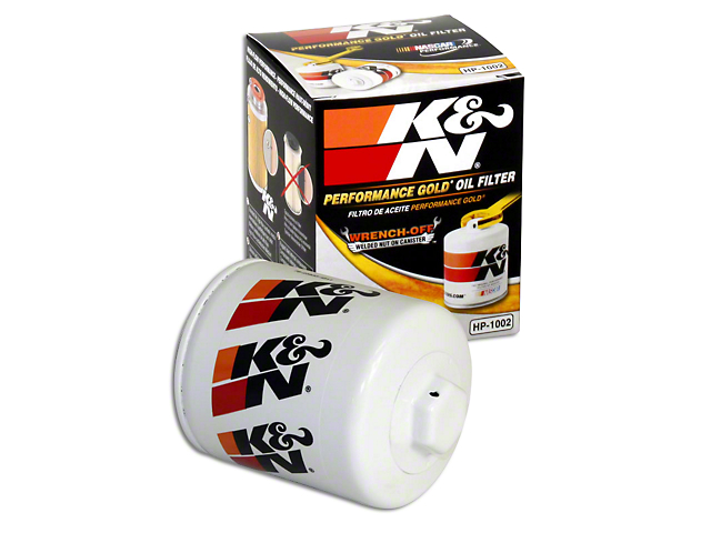 K&N Performance Gold Oil Filter (15-20 EcoBoost)