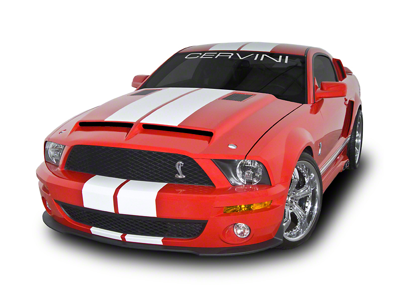 Cervini's Type IV Ram Air Hood Stripes (07-09 GT500)