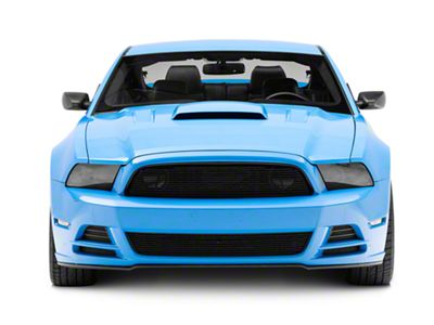 Cervini's Upper & Lower Billet Grilles - Black (13-14 GT, V6)