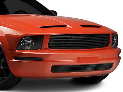 Cervini's Black Lower Billet Grille (05-09 V6)