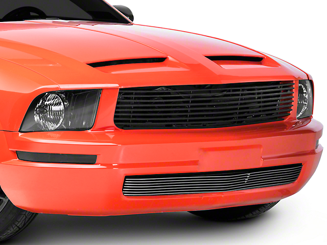 Cervini's Lower Billet Grille - Brushed (05-09 V6)