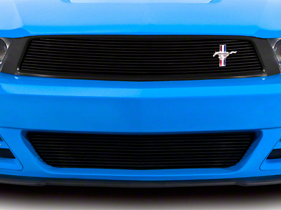 Cervini's Stalker Lower Billet Grille - Brushed (10-12 GT, V6)