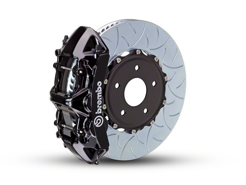 Brembo GT Series 6-Piston Front Brake Kit - Type 3 Rotors - Black (15-19 EcoBoost, V6)