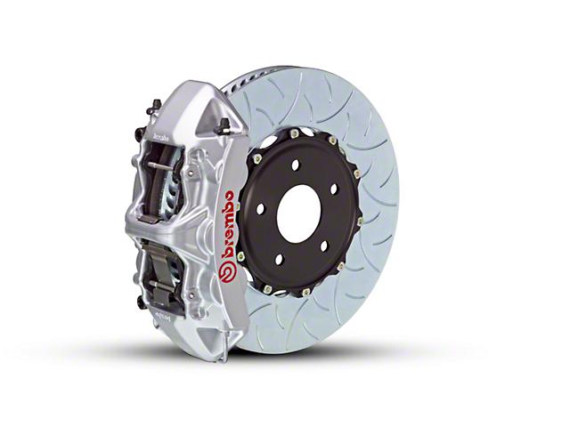 Brembo GT Series 6-Piston Front Brake Kit - Type 3 Rotors - Silver (15-18 EcoBoost, V6)
