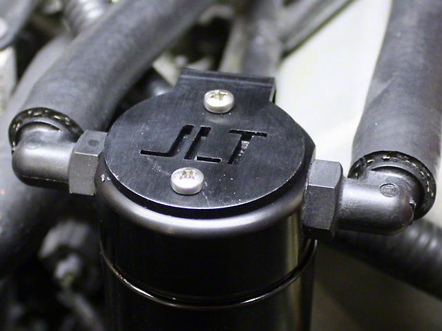 JLT V3.0 Black Oil Separator - Passenger Side (99-04 GT, Bullitt)