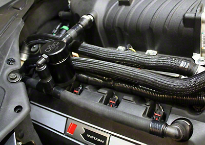 JLT V3.0 Black Oil Separator - Passenger Side (11-17 GT w/ FRPP, Roush or VMP Supercharger)