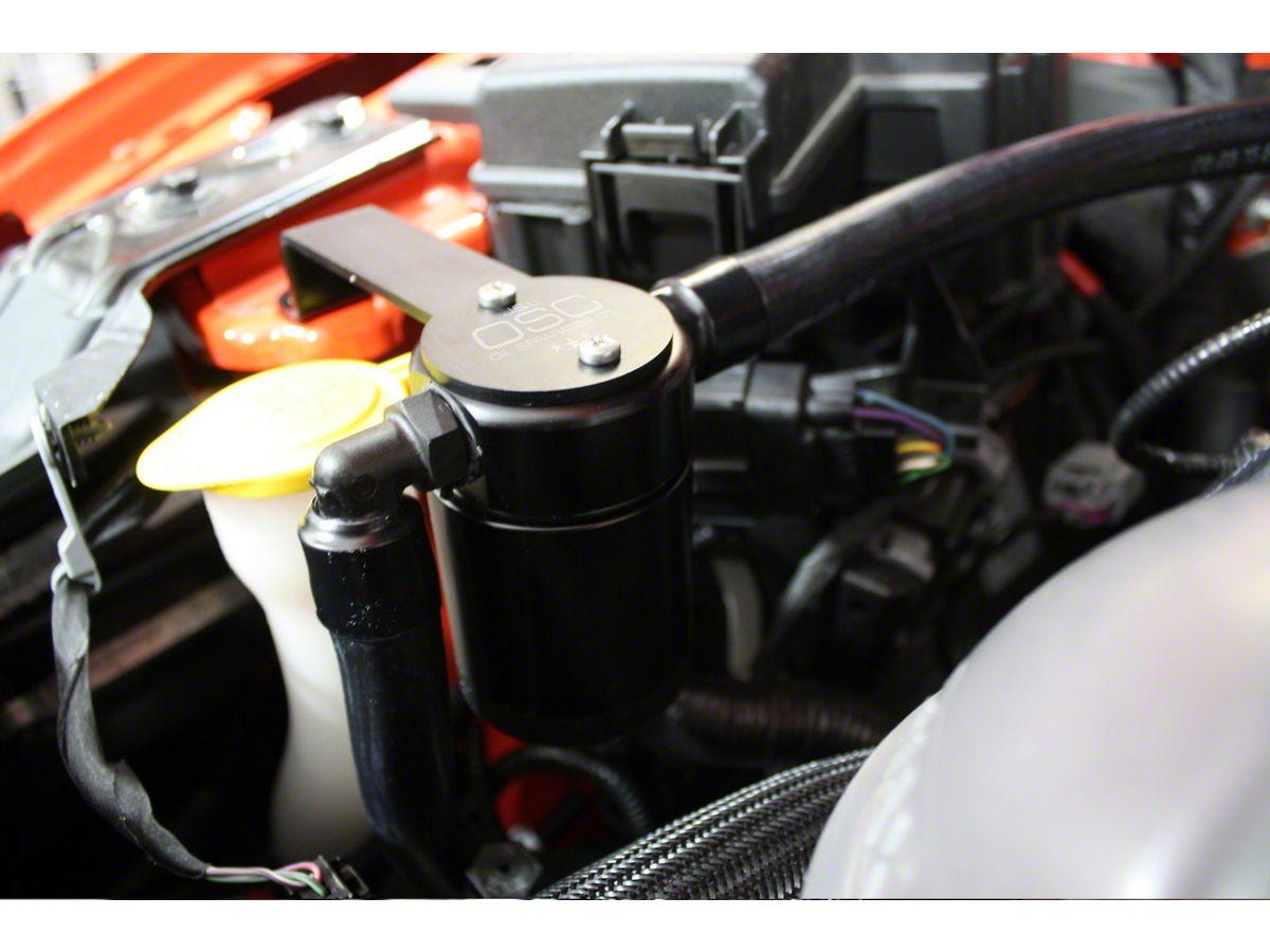 JLT V3 0 Black Oil Separator - Passenger Side (15-20 GT w/ Whipple  Supercharger)
