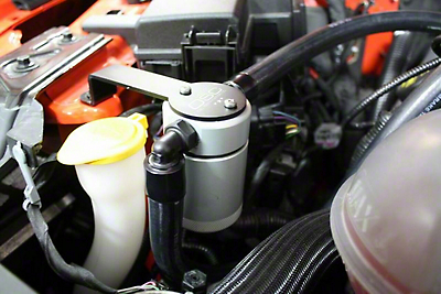 JLT V3.0 Satin Oil Separator - Passenger Side (15-17 GT w/ Whipple Supercharger)