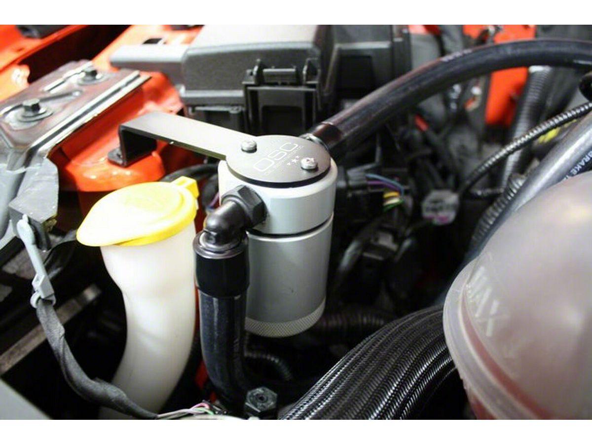 JLT V3 0 Satin Oil Separator - Passenger Side (15-20 GT w/ Whipple  Supercharger)