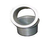 JLT Lower Grille Bezels - Silver (13-14 GT, V6)