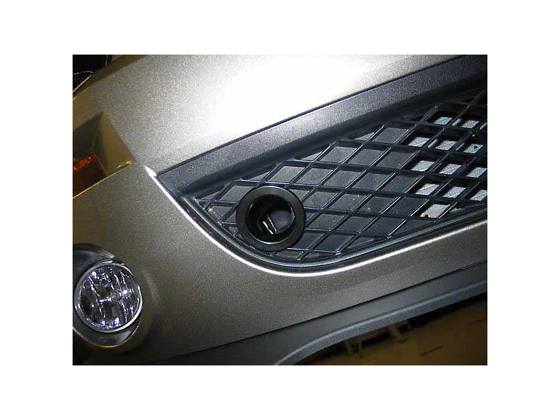 JLT Lower Grille Bezels - Black (07-09 GT500)