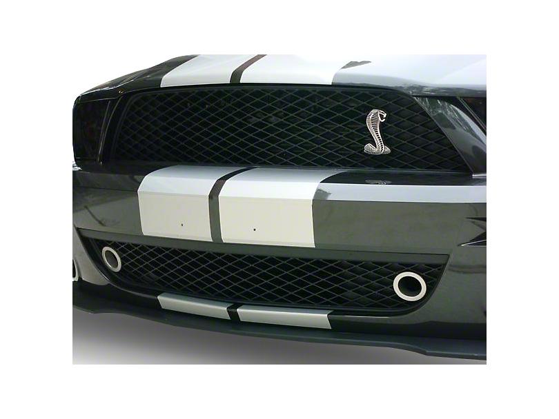 JLT Lower Grille Bezels - Silver (07-09 GT500)