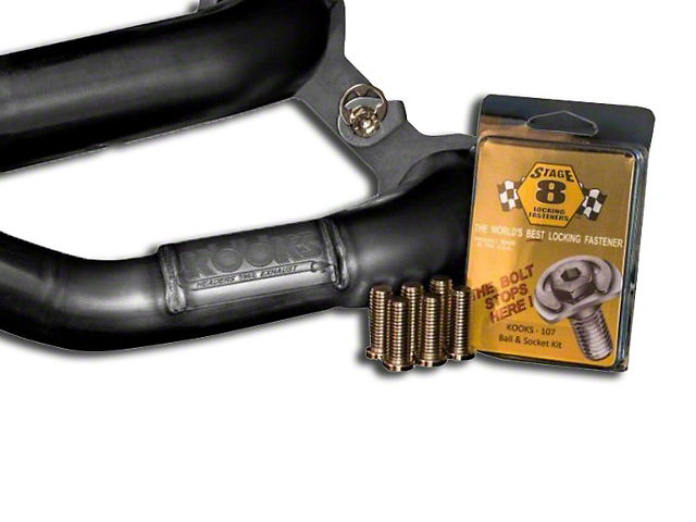 Kooks Stage 8 Locking Header Bolts (11-14 GT)