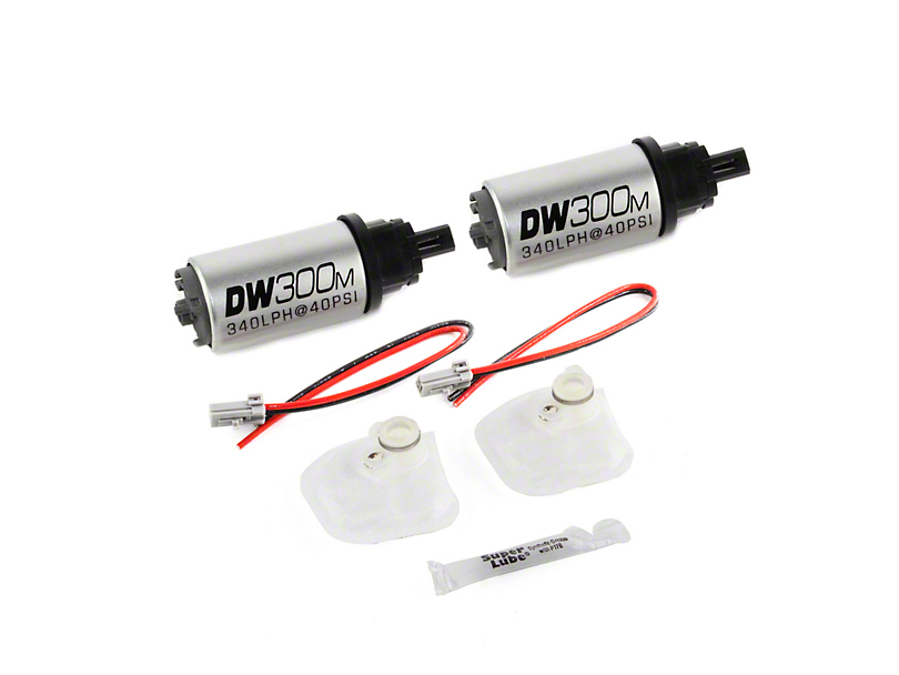 DeatschWerks In-Tank Fuel Pump w/ Install Kit - 340 LPH (07-12 GT500)