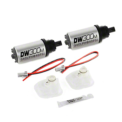 DeatschWerks 340 LPH In Tank Fuel Pump w/ Install Kit (07-12 GT500)