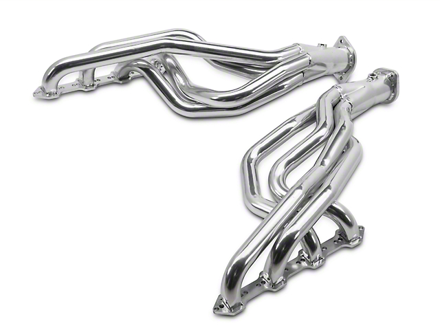 MAC 1-3/4 in. Ceramic Long Tube Headers w/ 2.5 in. Collectors (79-93 5.0L w/ Automatic Transmission)