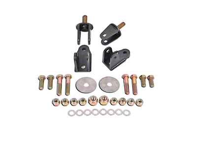 BMR Rear Coil-over Conversion Kit - Hammertone (79-04 All, Excluding 99-04 Cobra)