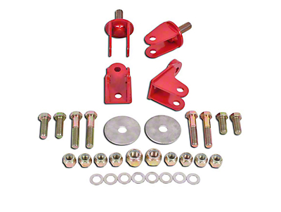 BMR Rear Coilover Conversion Kit - Red (79-04 All, Excluding 99-04 Cobra)
