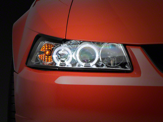 Axial Chrome Projector Headlights (99-04 All)