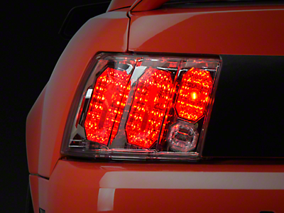 Axial Crystal Clear Euro Tail Lights (99-04 All, Excluding 99-01 Cobra)