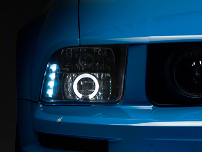 Axial Black Projector Headlights (05-09 GT, V6)