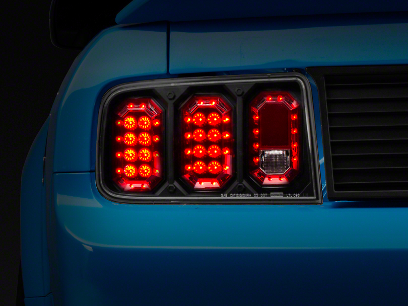 Alteon Bermuda Black LED Tail Lights (05-09 All)