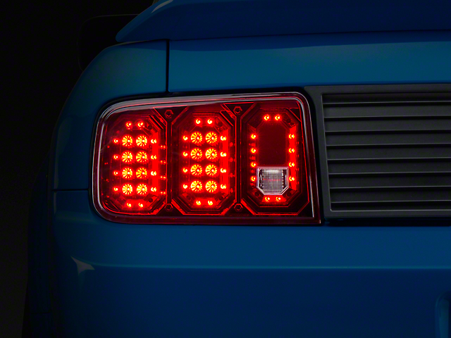Axial Ruby Red LED Tail Lights (05-09 All)