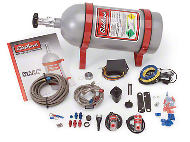Edelbrock Performer EFI Wet Nitrous System (05-08 V6)