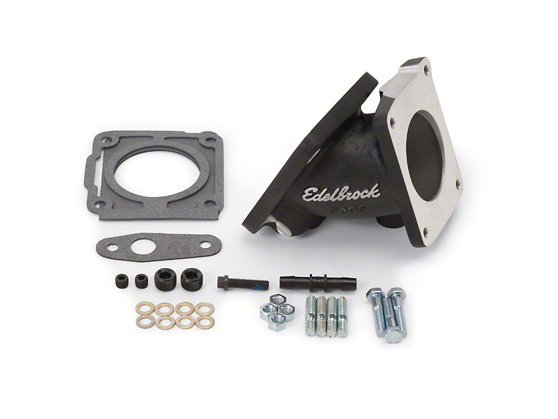 Edelbrock Throttle Body Adapter for Edelbrock's Manifold (94-95 GT, Cobra)