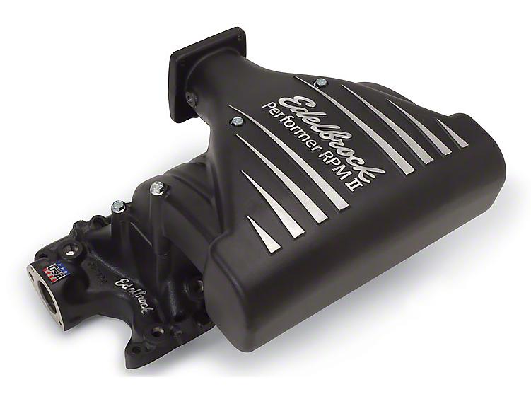 Edelbrock Performer RPM II EFI Intake Manifold - Black (86-95 5.0L)