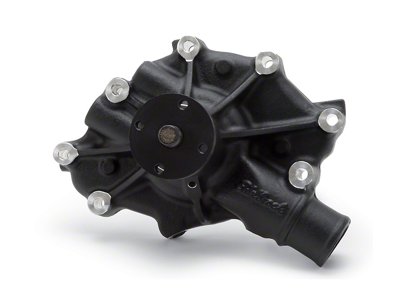 Edelbrock High Flow Performance Victor Series Water Pump - Black (86-93 5.0L)