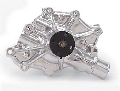 Edelbrock High Flow Performance Victor Series Water Pump - Polished (86-93 5.0L)