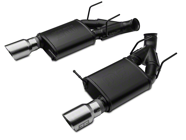 RTR Tactical Performance Competition Spec Axle-Back Exhaust w/ Chrome Tips (11-14 GT)