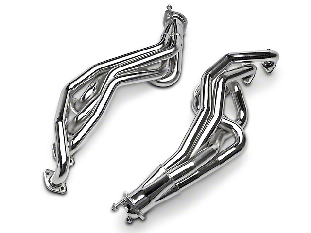 MAC 1-5/8-Inch Long Tube Headers; Chrome (96-04 GT)