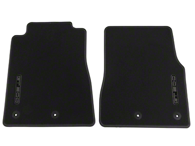 Ford Front Floor Mats w/ GT500 Logo - Charcoal (13-14 GT500)